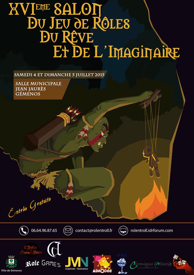 16e salon du Jeu de Rôles, du Rêve et de l'Imaginaire à Gémenos