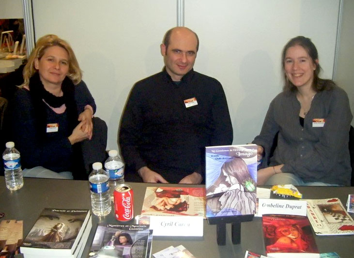 Laetitia Carau, Cyril Carau et Aurelie Wellenstein