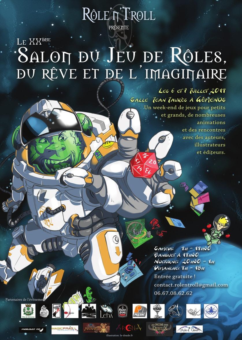 Rolentroll 2019 salon de JDR et Imaginaire