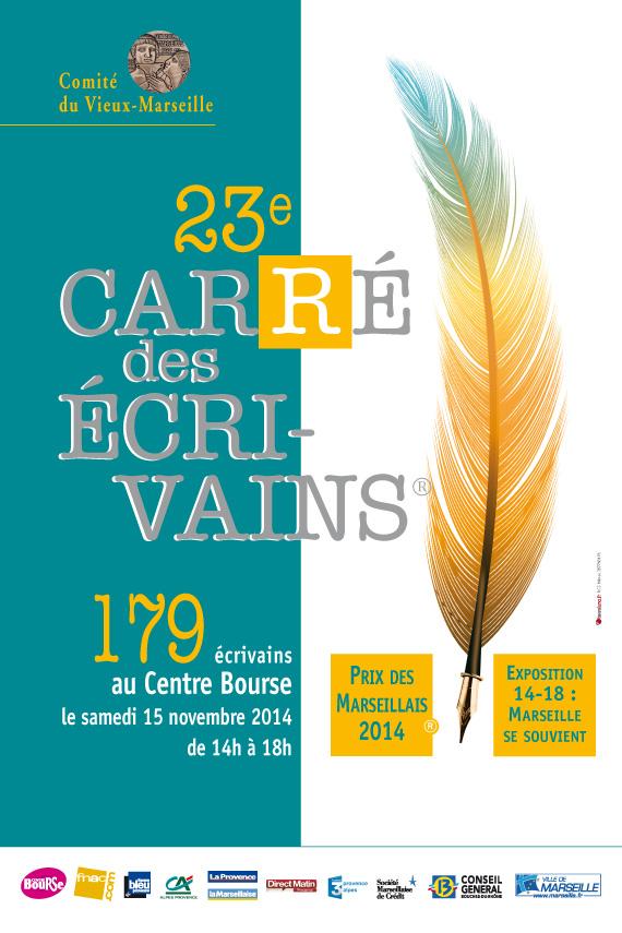 Cyril Carau au 23e carré des écrivains à Marseille