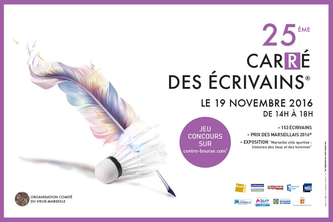 Cyril Carau au 25e carré des écrivains à Marseille