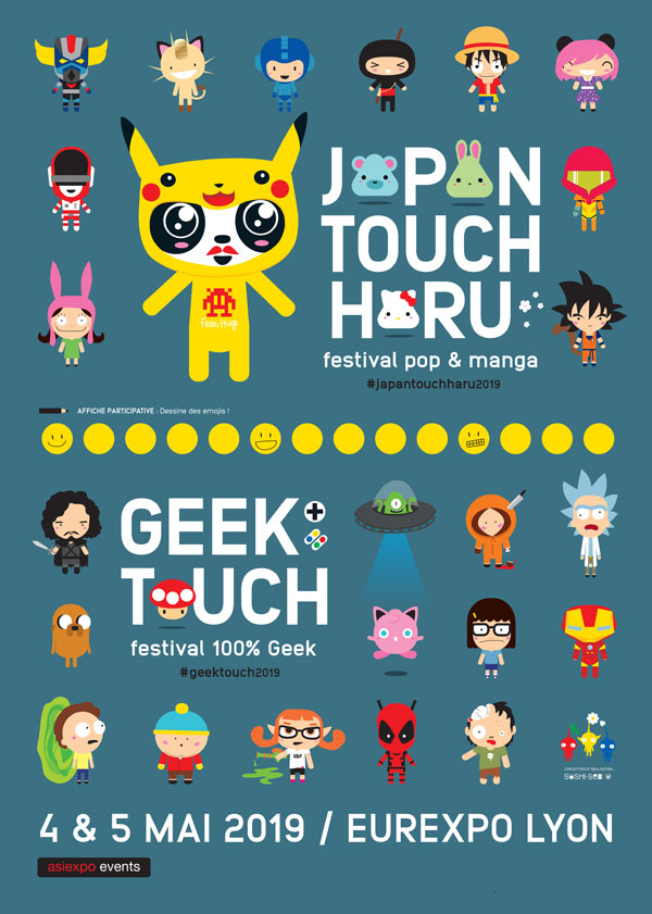 Geek touch et Japan touch haru festival Lyon 2019