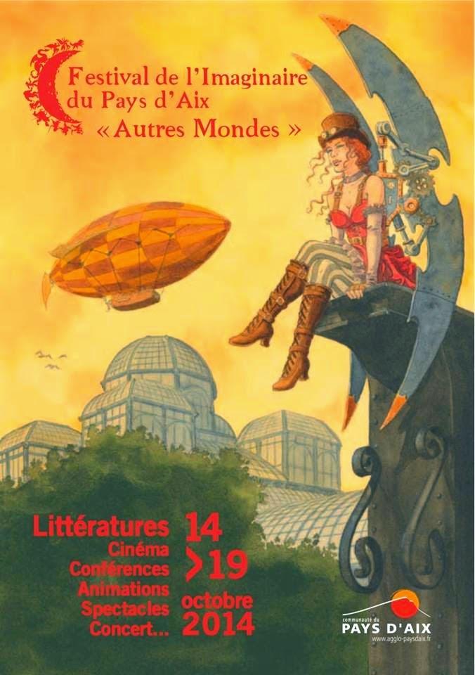Autres Mondes festival Imaginaire du Pays d'Aix à Lambesc