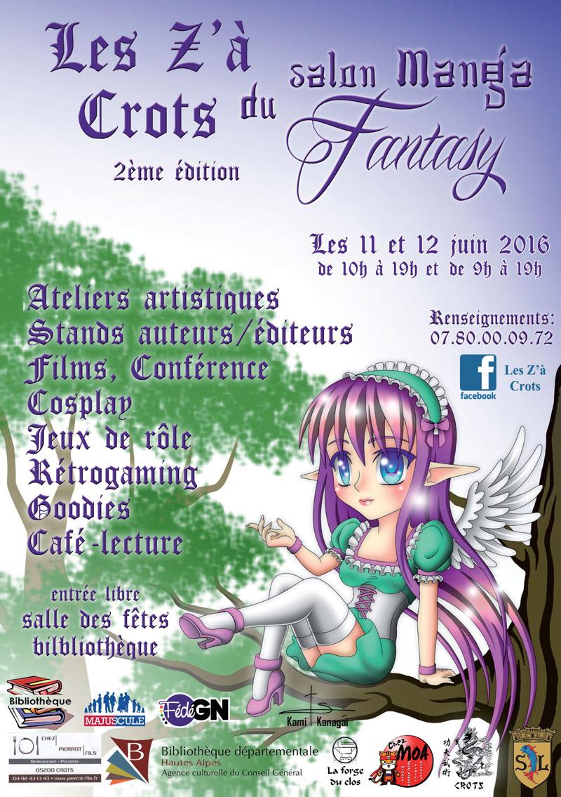 Les Z'a Crots Manga/Fantasy 2016