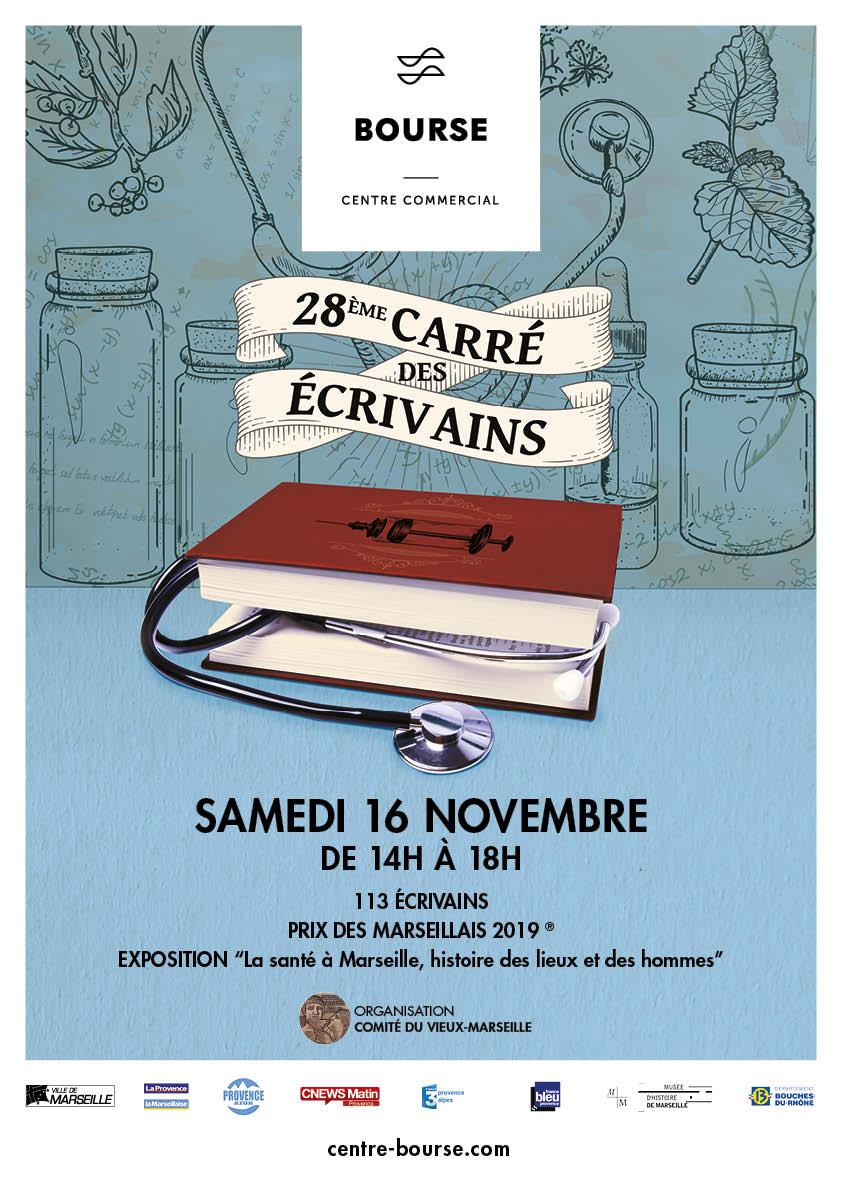 Cyril Carau au 28e carré des écrivains
