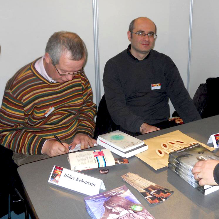 Didier Reboussin et Cyril Carau