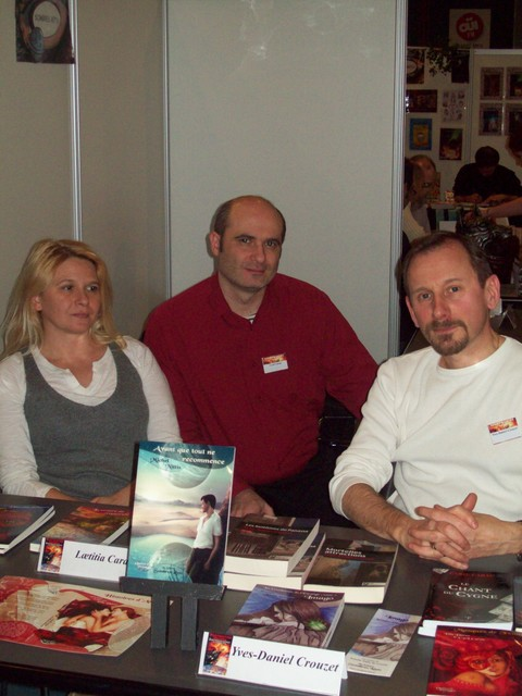 Laetitia Carau, Y-D Crouzet et Cyril Carau