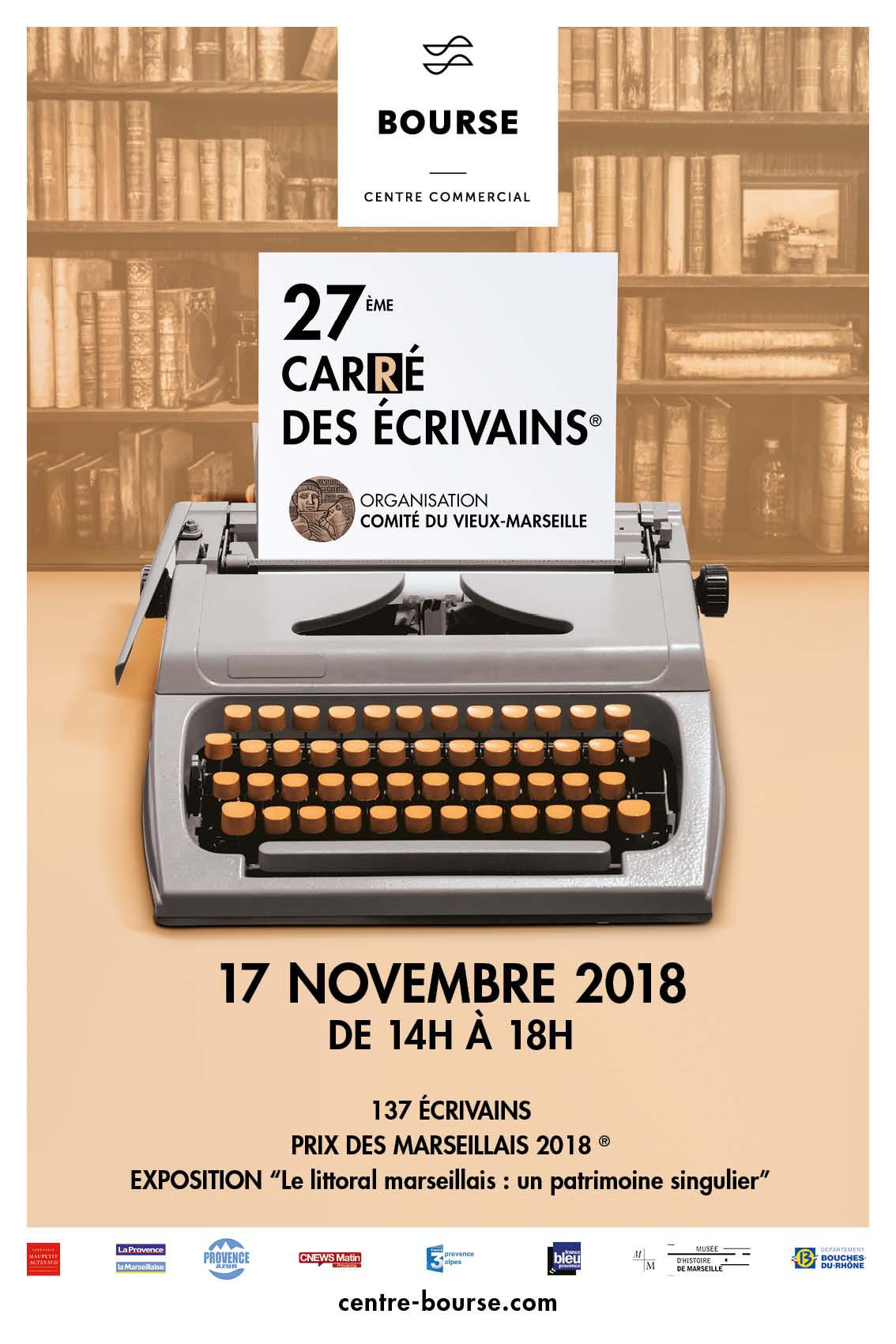 Cyril Carau au 27e carré des écrivains