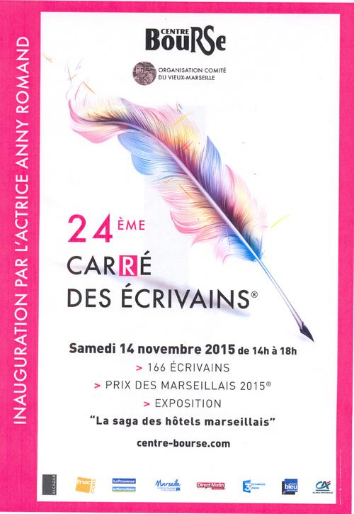 Cyril Carau au 24e carré des écrivains à Marseille