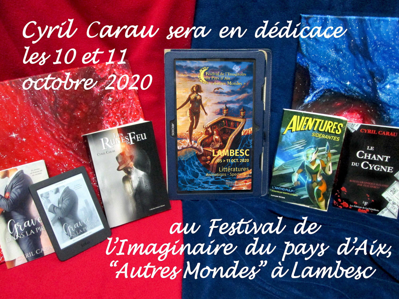 12e édition du Festival de l'Imaginaire du pays d'Aix Autres Mondes à Lambesc
