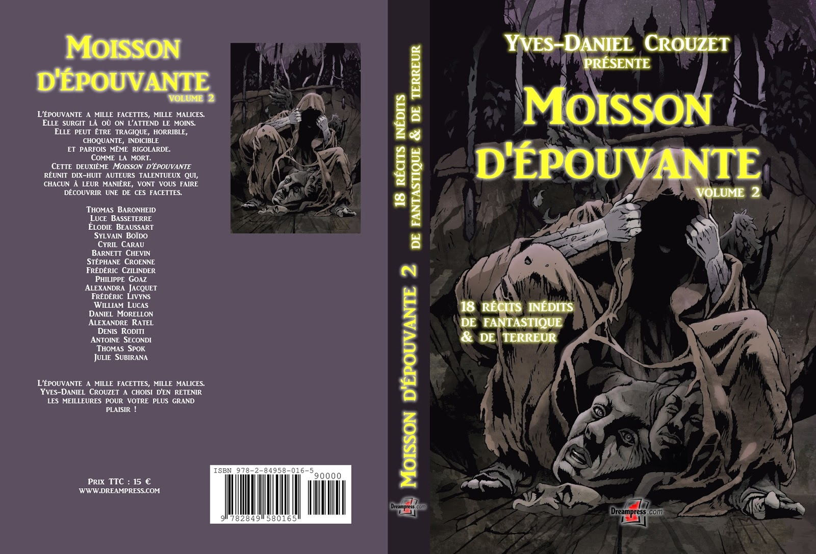 Parution de Moisson d'épouvante volume 2