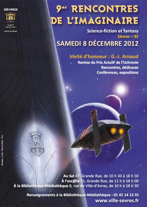 Le salon de l'Imaginaire de Sèvres 2012
